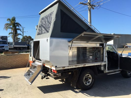 Stainless Alloy camper tray