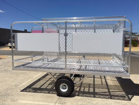 Stainless Alloy Trailer 2